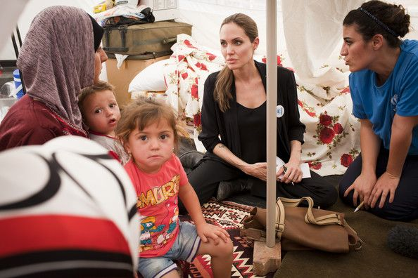 Angelina Jolie Photo - UNHCR Special Envoy Angelina Jolie Meets With Syrian Refugees In Turkey