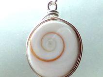 sterling silver shiva's eye pendant for charity!