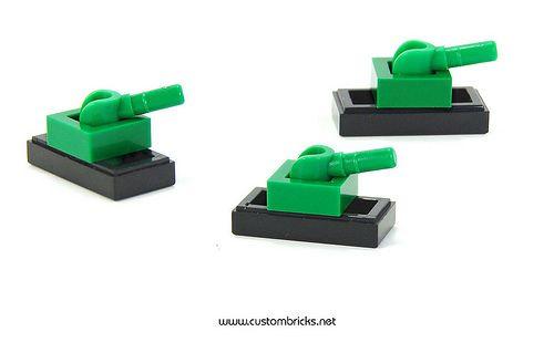 LEGO Micro Tanks