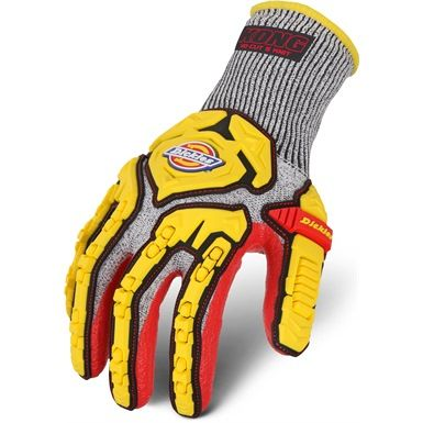 These Dickies Heavy duty Cut 5 Knit Impact Gloves are ideal addition to your PPE, especially where machinery and moving parts are involved. They offer excellent resistance against cuts and mechanical risks,