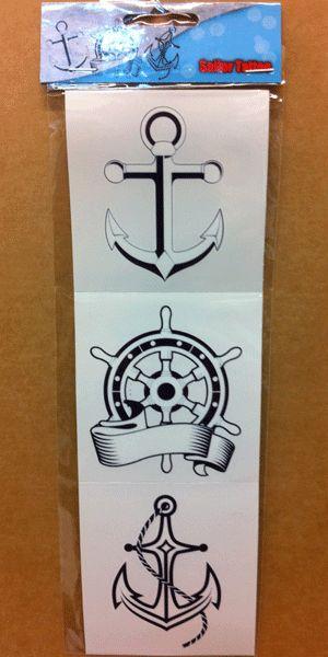 Sticker tattoos matrozen
