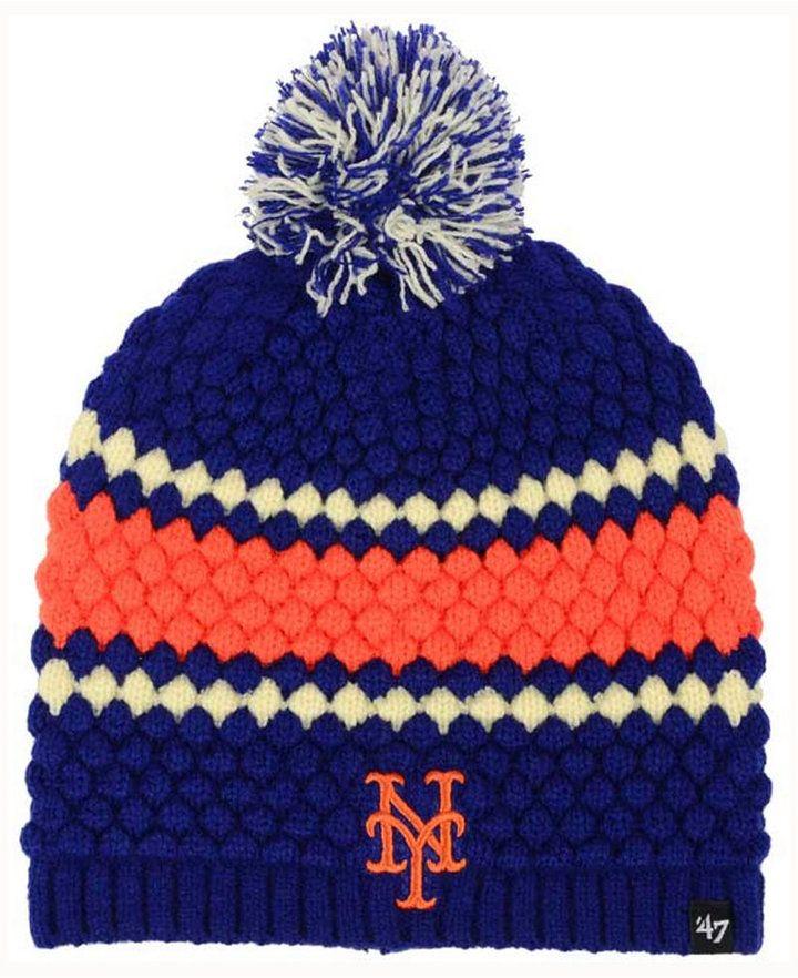 b4c3903afaffa ... usa 47 brand womens new york mets leslie knit hat macys saved by  shoppingis 54711 4857f