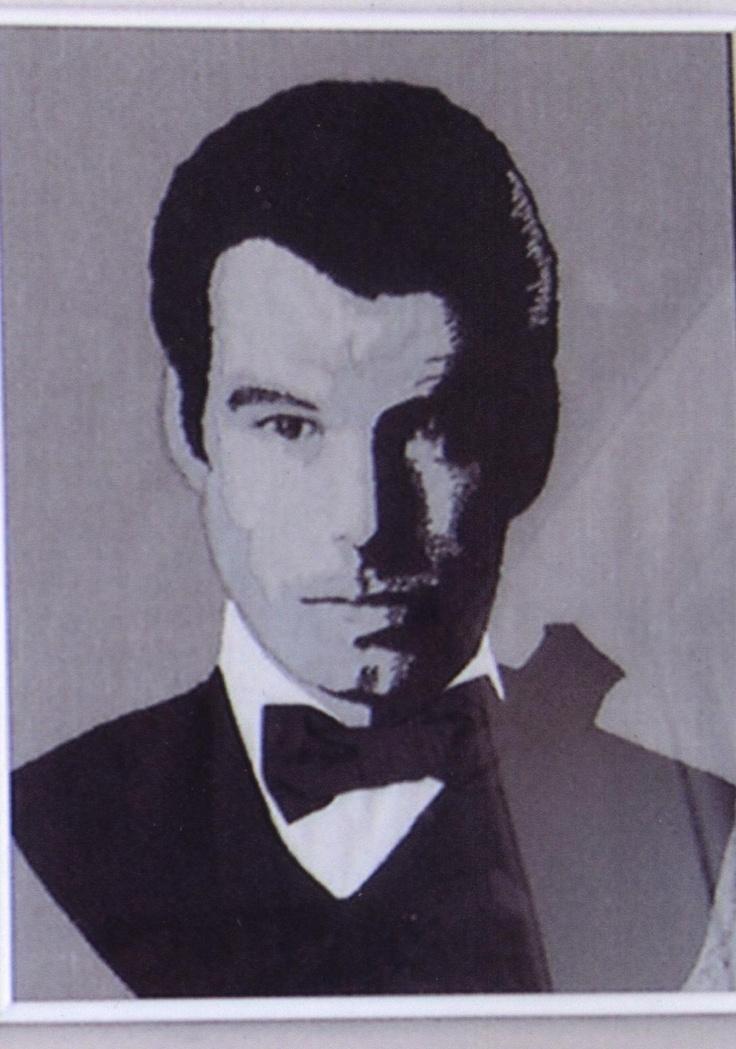 Pierce Brosnan.
