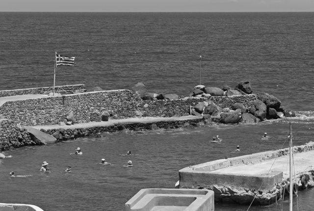 Timos Tsoukalas, Swimmers at Pori Port, Santorini