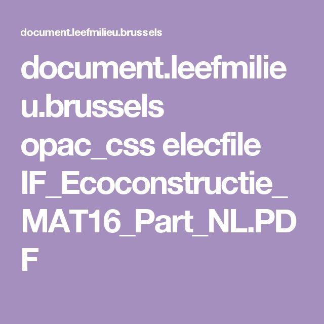 Document.leefmilieu.brussels Opac_css Elecfile  IF_Ecoconstructie_MAT16_Part_NL.PDF