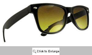 Jack Wayfarer Bifocal Driving Sunglasses - 597 Black
