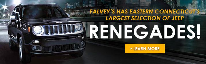Come test drive the all new Jeep Renegade at Falvey's Motors Eastern Ct's LARGEST Jeep Renegade selection!  #Falveysmotors  #Chrysler #Dodge #Jeep #Ram #Ramtrucks #Mopar #Norwichct #Newlondonct #Grotonct #Mysticct  #Norwich #Newlondon #Groton #Mystic #Colchesterct  #Colchester #Falveys #Carsdotcom #Autotrader #Fivestar #Ct #Connecticut