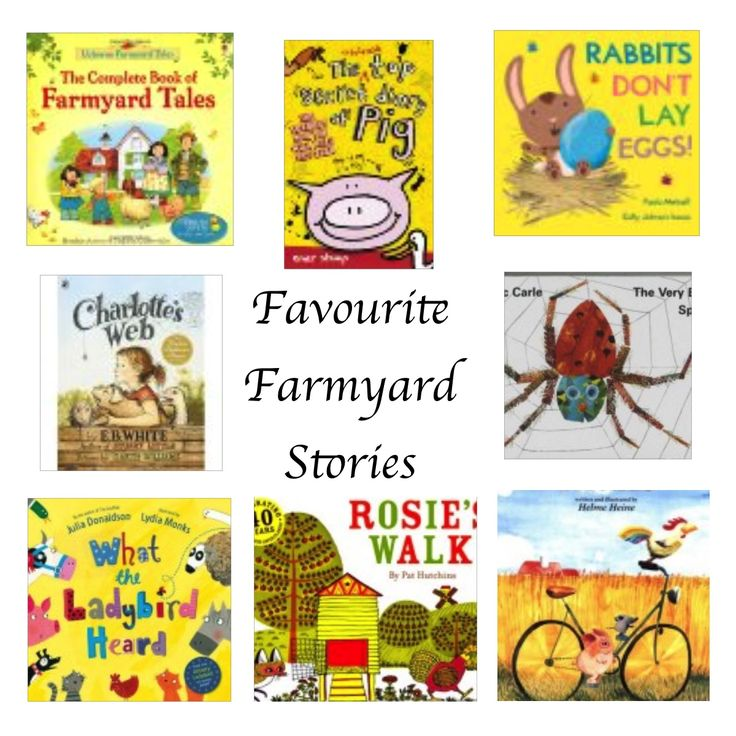 We were amazed at how many stories we have on our bookcase that are set on a farm. In this post we've chosen some of our favourite farmyard stories.
