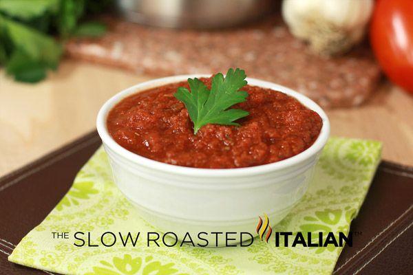 ... than any Restaurant: 5 Minute Red Sauce, Tomato Sauce, Marinara Sauce