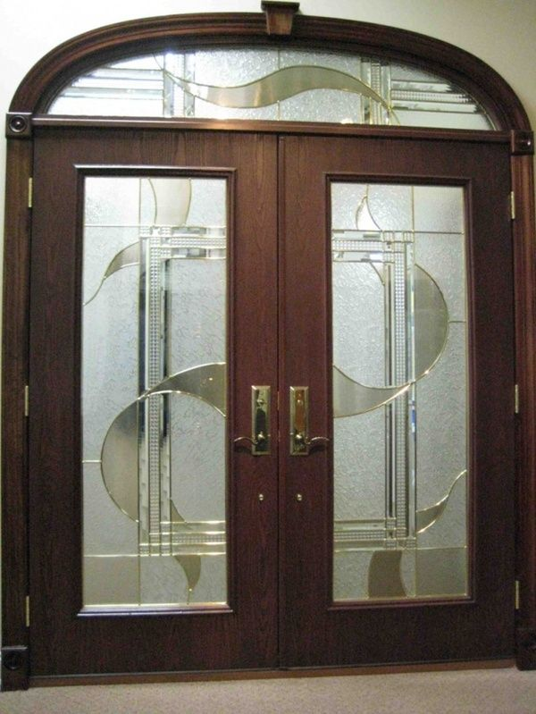 Modern Glass Double Door For Your Home | Home Designs | Pinterest | Doors, Door  Design And Exterior Doors