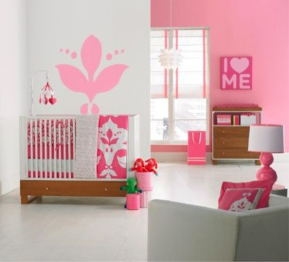 see our fun pink baby room get more decorating ideas at http - Baby Bedroom Theme Ideas
