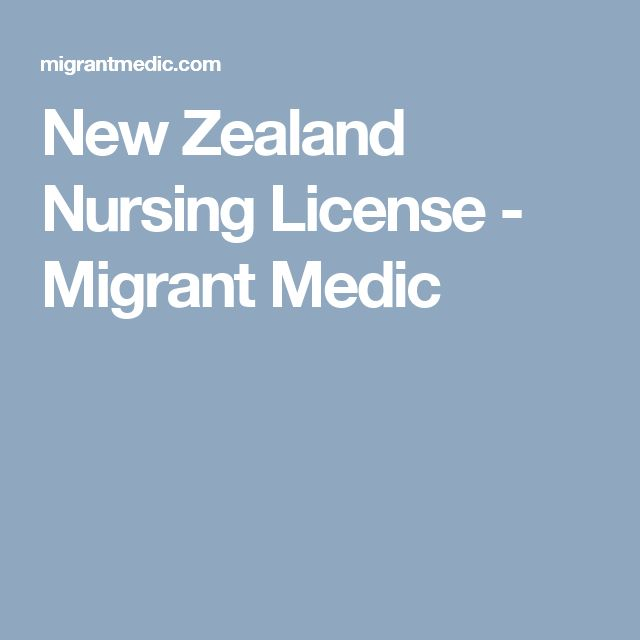 New Zealand Nursing License - Migrant Medic