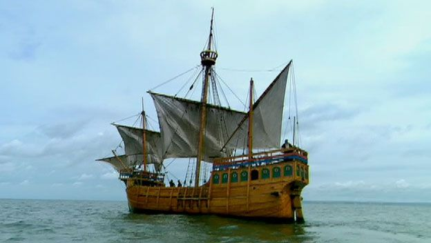 9/5/1522  Magellan's expedition circumnavigates globe http://www.history.com/this-day-in-history/magellans-expedition-circumnavigates-globe