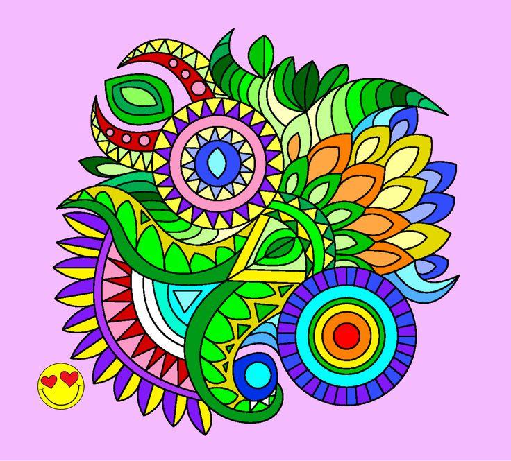 ¿Quieres dibujar también? Crea tu propio dibujo: http://appstore.coloringkidsclub.com/?app=com.color.mandala