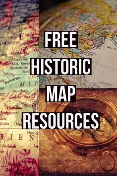 If you want to understand the world in which your ancestors lived, look at a map that was drawn during their lifetime. Free maps, free resources. #genealogy