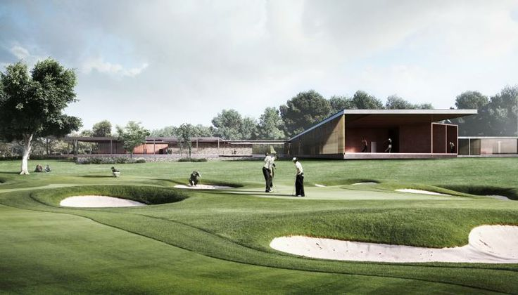RIO 2016 Golf Clubhouse