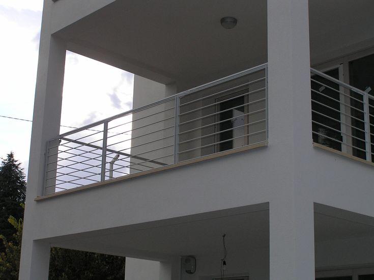 Home Casa esterna, Esterni casa, Ringhiera