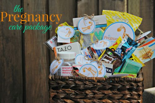 The Pregnancy Care Package // Baby Shower Gift Idea // Gift for Mom-to-Be // Congratulations!