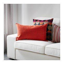 IKEA - ISUNDA, Housse de coussin, La housse de coussin se coordonne parfaitement avec de nombreux canapés et chaises de l'assortiment IKEA, car elle est faite dans le même tissu.Facile de retirer la housse grâce à la fermeture à glissière.