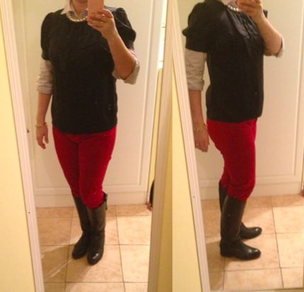 First trimester clothes: outfits to hide pregnancy