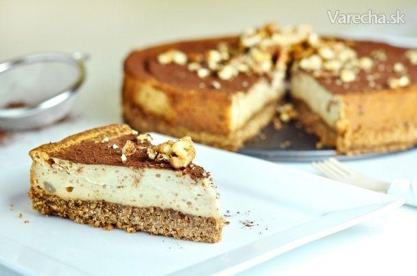 Fit gaštanovo-medový cheesecake (videorecept) - Recept