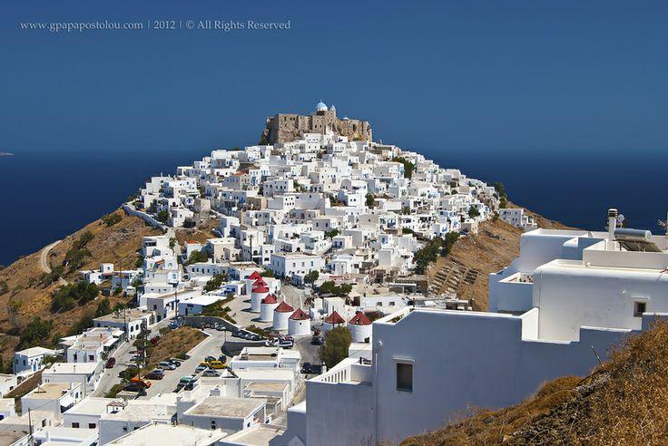 Astypalaia island  Chora*** by George Papapostolou, via 500px