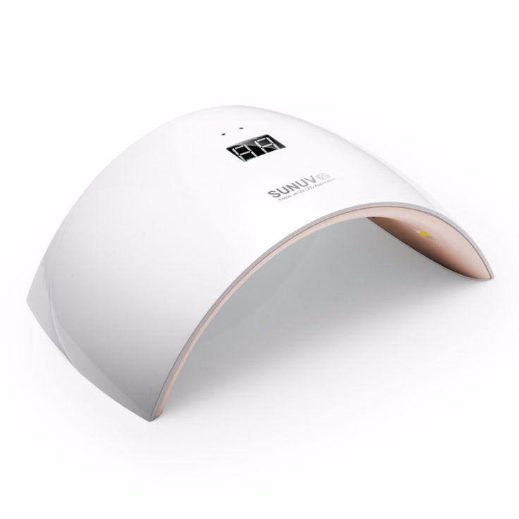 sunuv sun9c sun9s 24 watt uv led lampe f r n gel trockner putzger t zum aush rten nagelgel. Black Bedroom Furniture Sets. Home Design Ideas