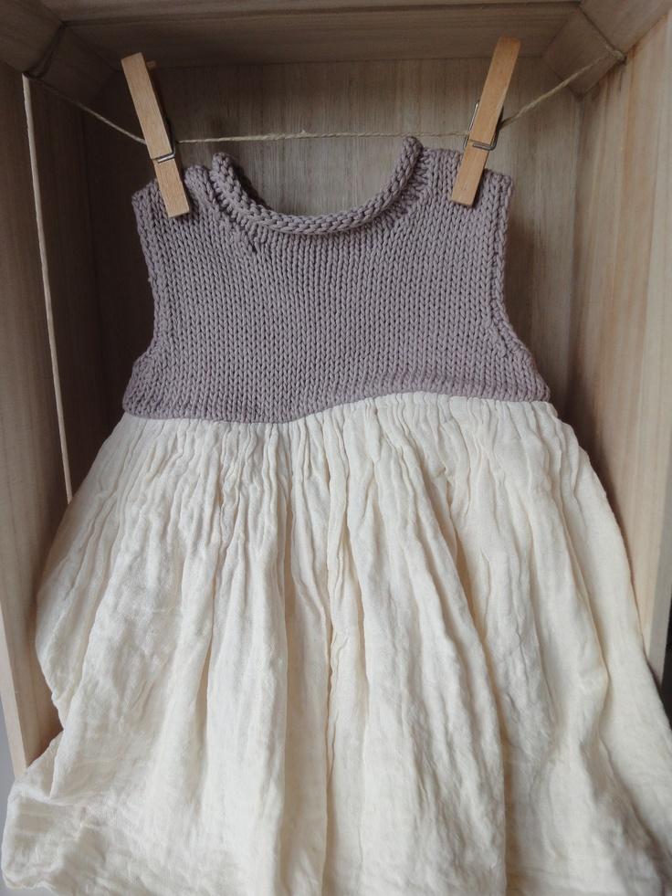 Eco-dress by : bbywhite.com