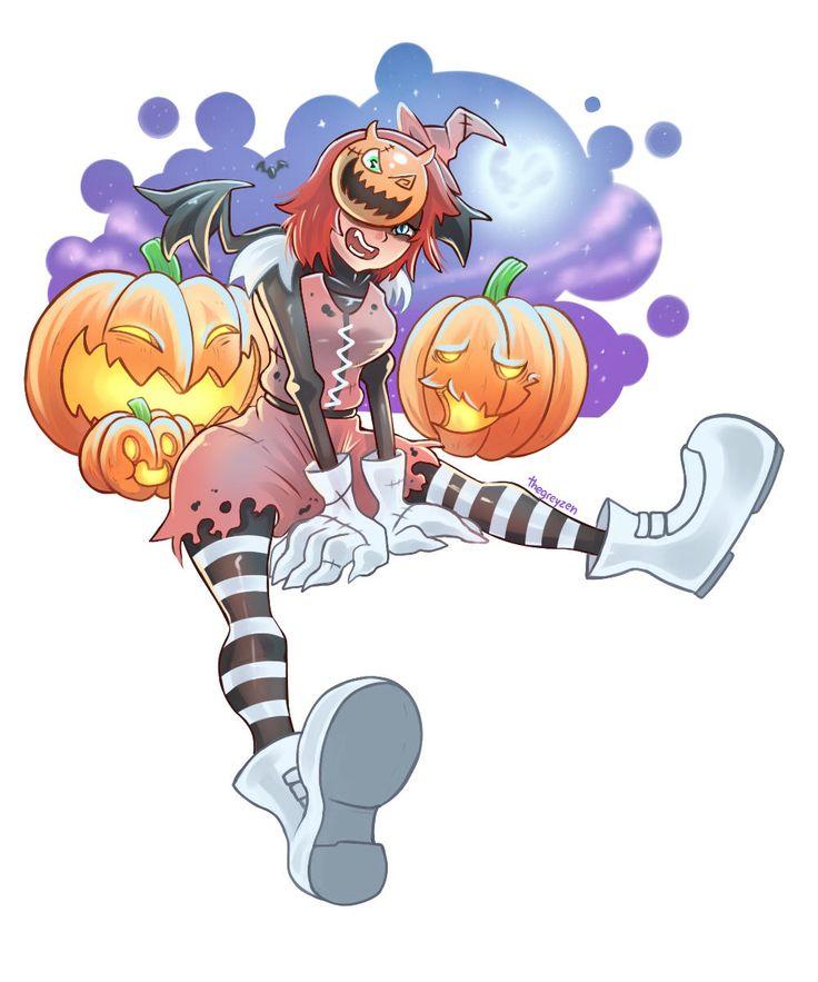 Halloween Kairi by thegreyzen | Kingdom Hearts | Know Your Meme