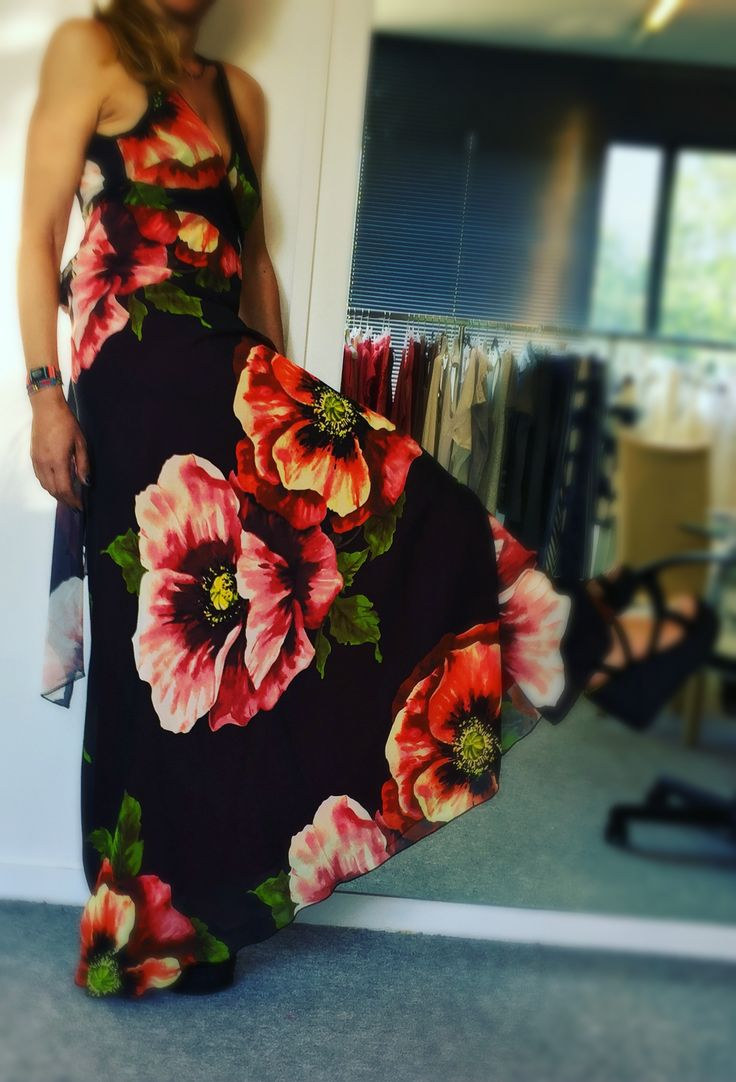 #Aster #Backless #Maxi #Floral #Dress Discover more in our #Eshop! #summerdress