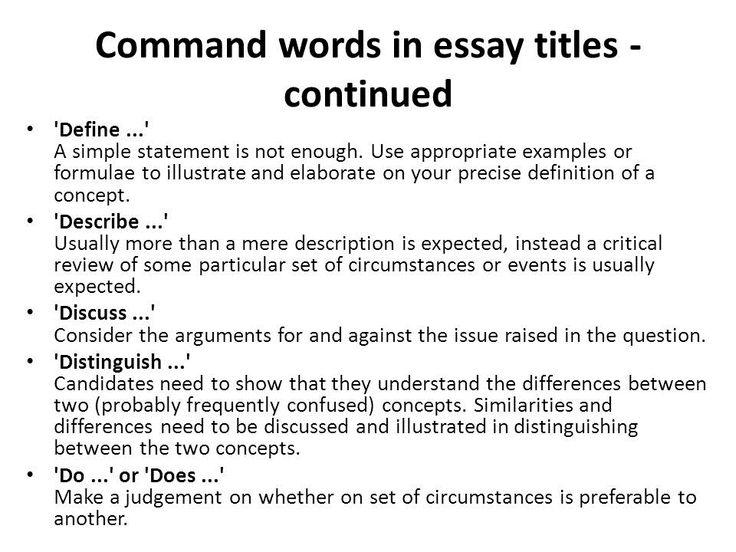 Essays on comparison