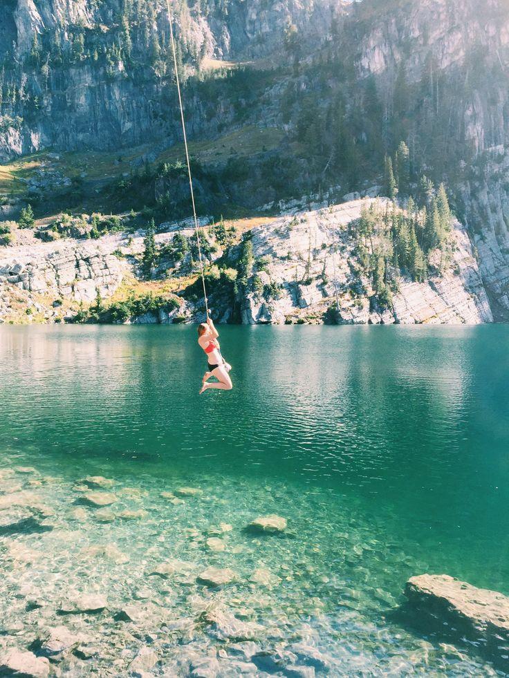 Bloomington Lake, ID. So gorgeous and looks so fun!