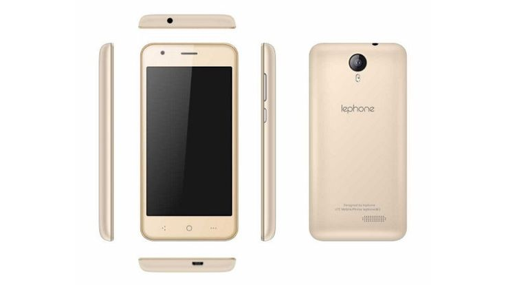 On Tuesday, Chinese smartphone maker Lephone has launched its new smartphone for the Indian market named 'Lephone W2' it is a budget smartphone with 4G VoLTE support at the price tag of Rs. 3,999 ($62 approx). it comes in Black, Golden, Rose Gold, and White + Gold colour variants.