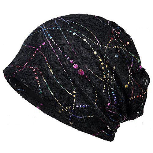 4705b3de80b Baggy Slouchy Beanie Bling Hat For Women Chemo Cancer Hat... https   www. amazon.com dp B0776Q3LV7 ref cm sw r pi dp U x 1M8jAbQD566TC