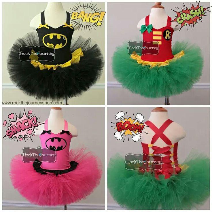 www.rockthejourneyshop.com  Super Hero birthday party tutu costume by Rock The…