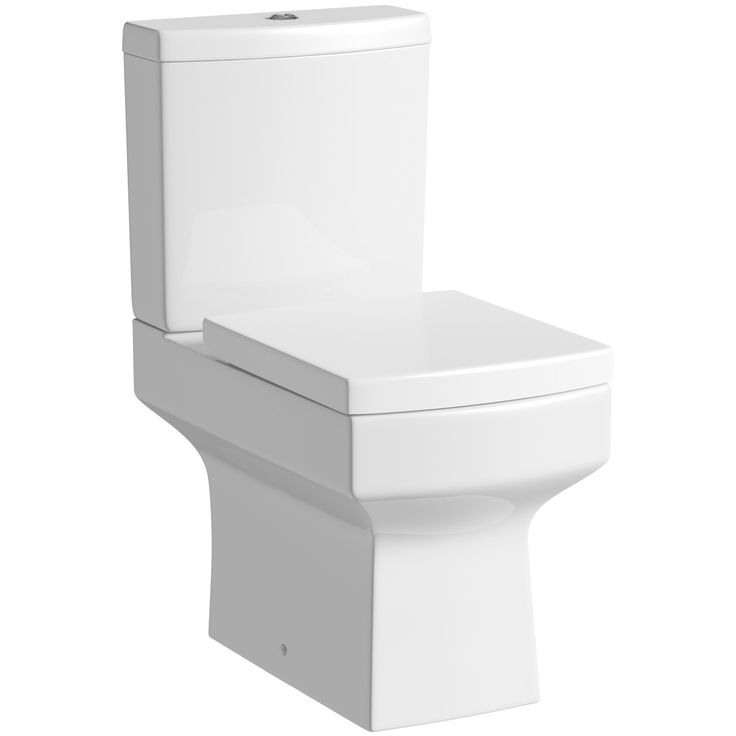 Orchard Wye close coupled toilet with soft close toilet seat | VIctoriaPlum.com - £149