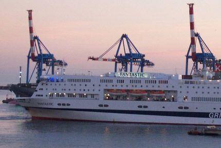 Fantastic  See all GNV fleet here: http://www.gnv.it/en/gnv-en/fleet-gnv.html