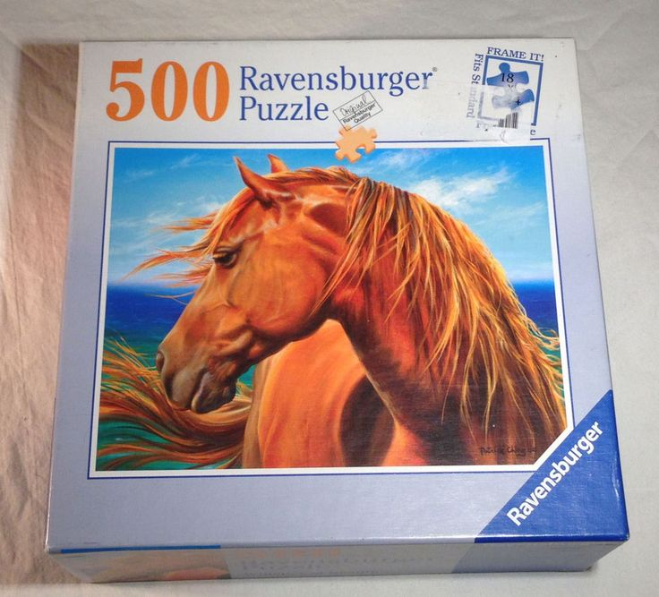 Ravensburger Puzzle  Whisper of Beauty  No. 80186  500 Pieces  One piece Missing #Ravensburger