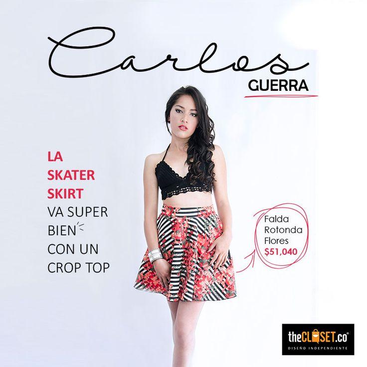 Encuentra #faldas rotonda y -#croptop tejidos en nuestra tienda, déjate seducir por el #DiseñoIndependiente TheCloset.co Store Cra. 7 # 54a - 18 L-3.