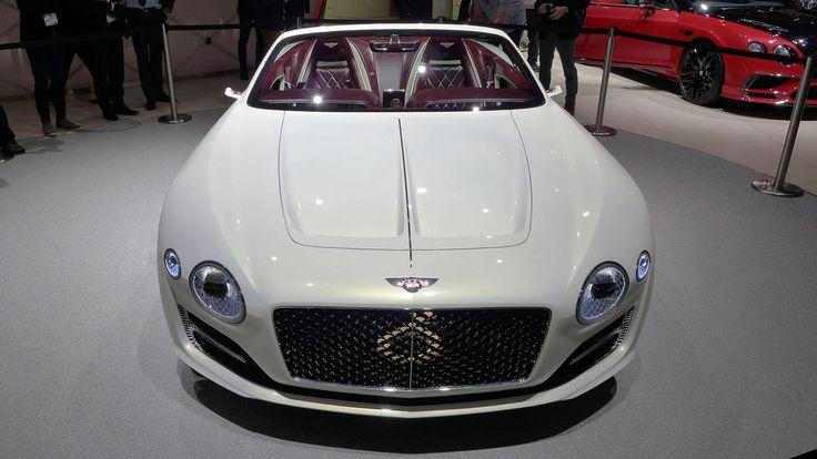 The Bentley EXP 12 Speed 6e concept at the Geneva motor show Photo 10