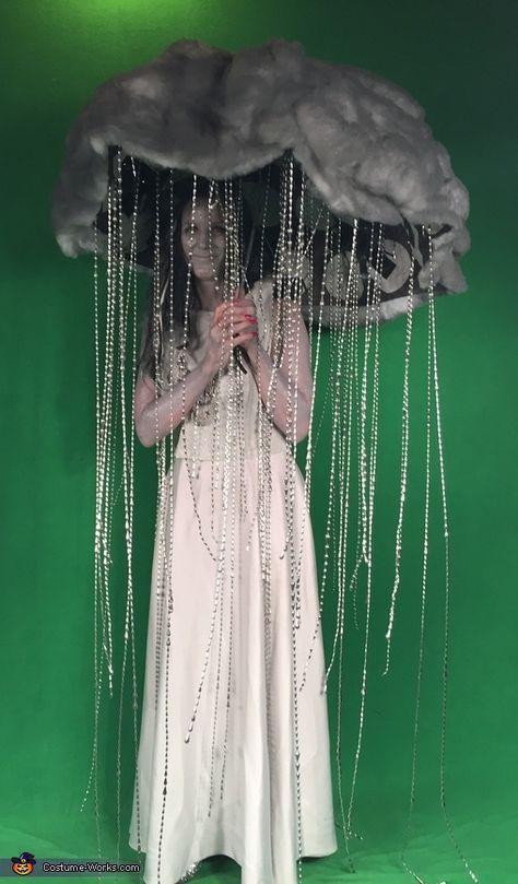 DIY Thunderstorm Costume I Carneval Karneval Fasching Kostüm