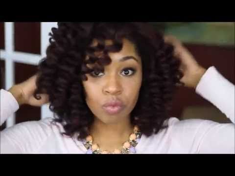 #84. Wand Curls on Natural Hair | feat. Irresistible Me Sapphire 8 in 1 ...