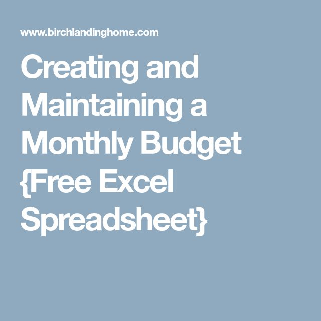 Best 25+ Monthly budget excel ideas on Pinterest Monthly budget - p amp amp l spreadsheet template