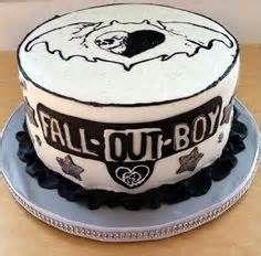 Fall Out Boy Symbol Like. fall out boy themed cake