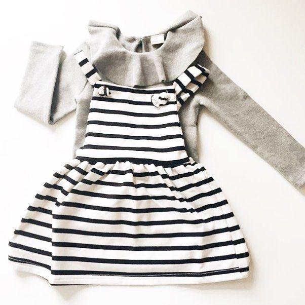 The Breton Dungaree Dress. @stylechild_no   #houseofjamie #kidsfashion #kids #fashion #clothing #kleding #kinderkleding #oekotexcertified #ecofriendly #designedinamsterdam