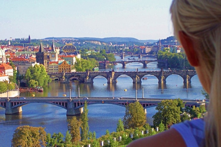 Captivated by Prague.
