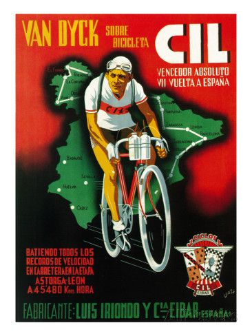 Bicycle Racing Promotion Poster by Lantern Press at AllPosters.com