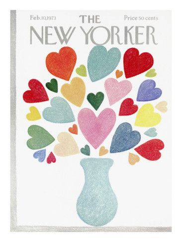 The New Yorker Cover - February 10, 1973 Poster Print by Charles E. Martin at the Condé Nast Collection