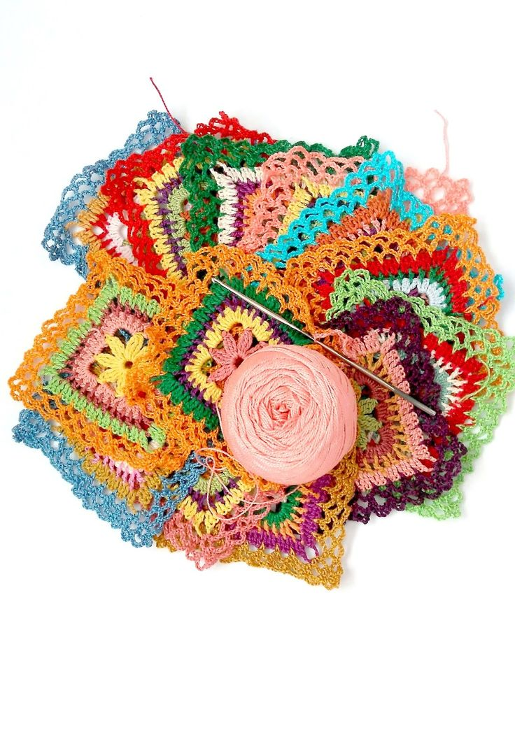 crochet squares, Blog Happy Forms