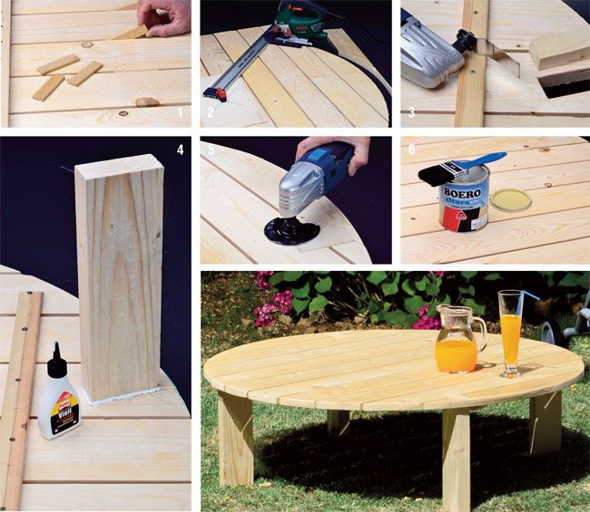 Costruire un tavolo recuperando un bancale di pallet